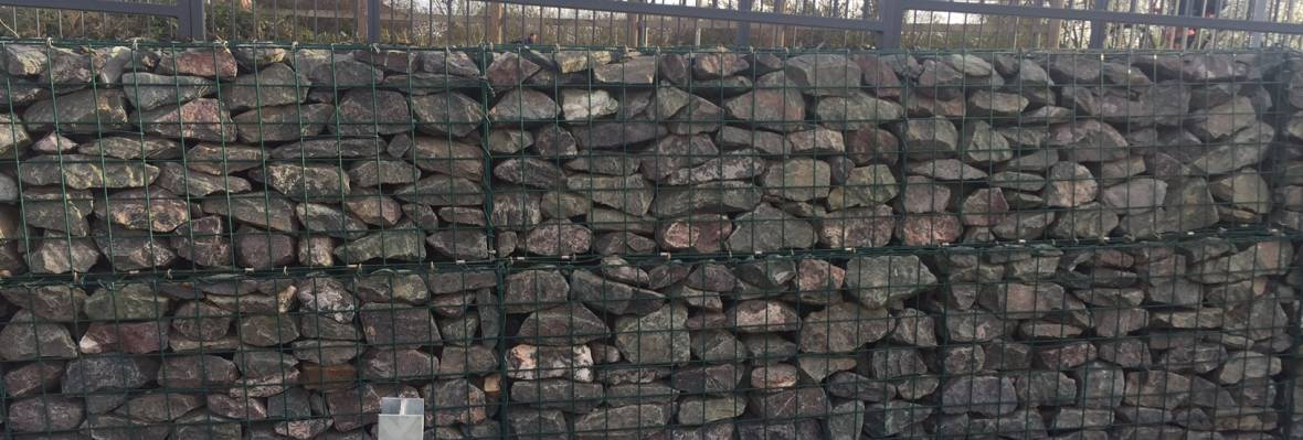 gabion stone case study rugby retail park