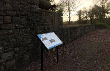 aggregate industries gifts information boards to westleigh quarry trail