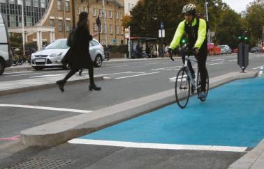 copy of eco countryside cycle segregation system london 1